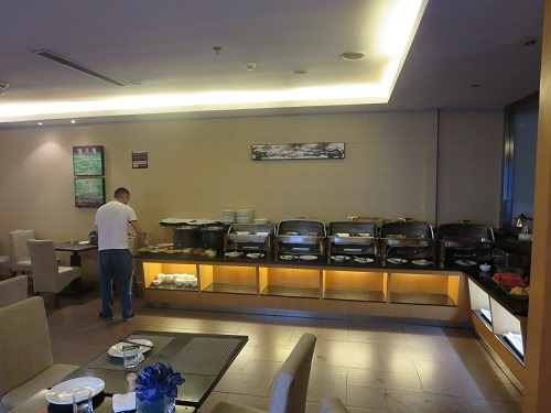 (写真7)6階にある食堂の様子
