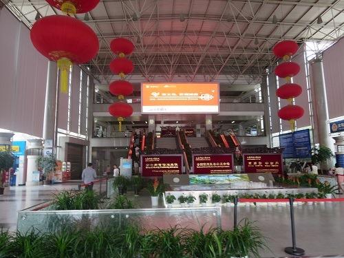(写真3)国際商貿城1区の入り口附近、受付でパンフレットもらえる