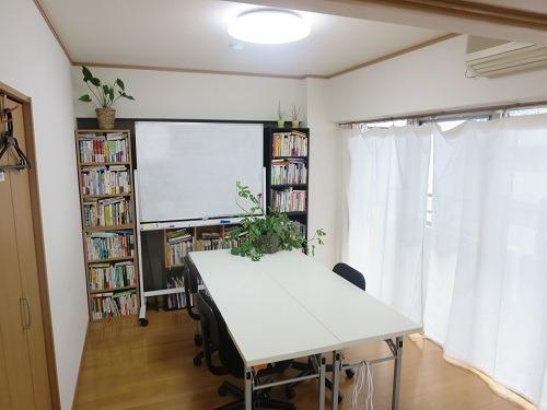 (写真4)BizLibrary(ビズライブラリー)の会議室の様子