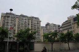 (写真1)中国の分譲マンション、上海では5千万円を超える住宅価格