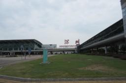(写真1)リニューアル前の深セン宝安国際空港、現在は利用されていない