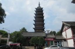 (写真1)常熟市のランドマーク的な存在の方塔園