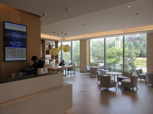 (写真2)落ち着いた雰囲気の全季酒店(常州通江南路店)(江蘇省・常州市)