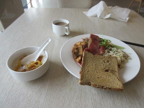 (写真5)全季酒店(常州通江南路店)の朝食(江蘇省・常州市)