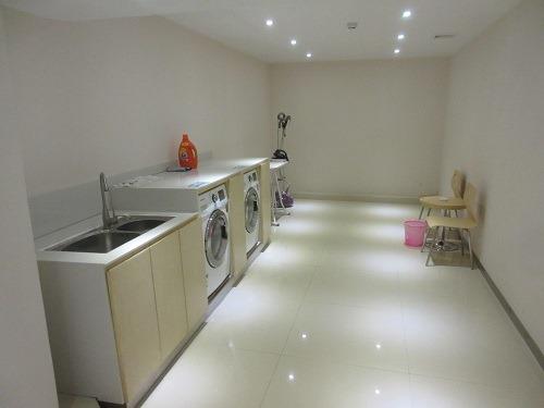 (写真6)城市便捷酒店(東莞万江店)の洗濯設備