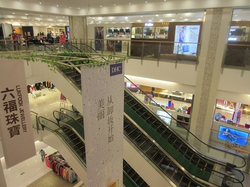 (写真2)華南MALLにある天和百貨、地元企業が経営している(広東省・東莞市)