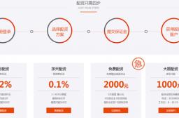 (写真1)あふれる融資会社、2000元から株取引の融資、1か月の利息1.2%