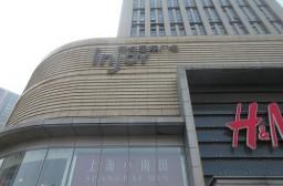 (写真1)常州市の市内中心部一等地に位置する吾悦国際広場(江蘇省・常州市)