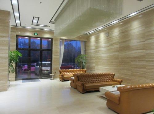 (写真4)星程酒店(Starway Hotel)のエントランス部分