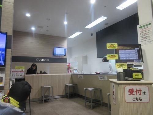 (写真5)きれいなキヤノンサービスセンター(梅田)
