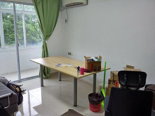 (写真1)蘇州市内の朱家庄新村の一室、きれいな内装