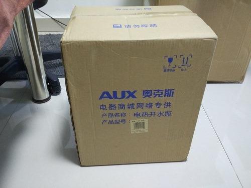 (写真1)京東商城(JD.com)で購入したAUXの電気ポット