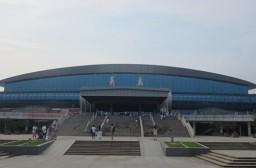(写真1)浙江省義烏市の列車の駅の様子