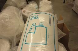 (写真1)温かさの指数が右上に表示されているIKEAの布団