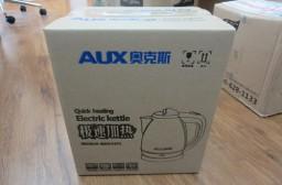 (写真1)AUX(奥克斯)の電気湯沸しポット(HX-128K5)、使いやすい