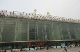 (写真1)常州市内の中心部にある常州駅、高速鉄道も停車する(江蘇省・常州市)